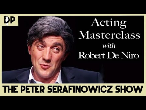 Acting Masterclass with Robert de Niro - The Peter Serafinowicz Show | Dead Parrot