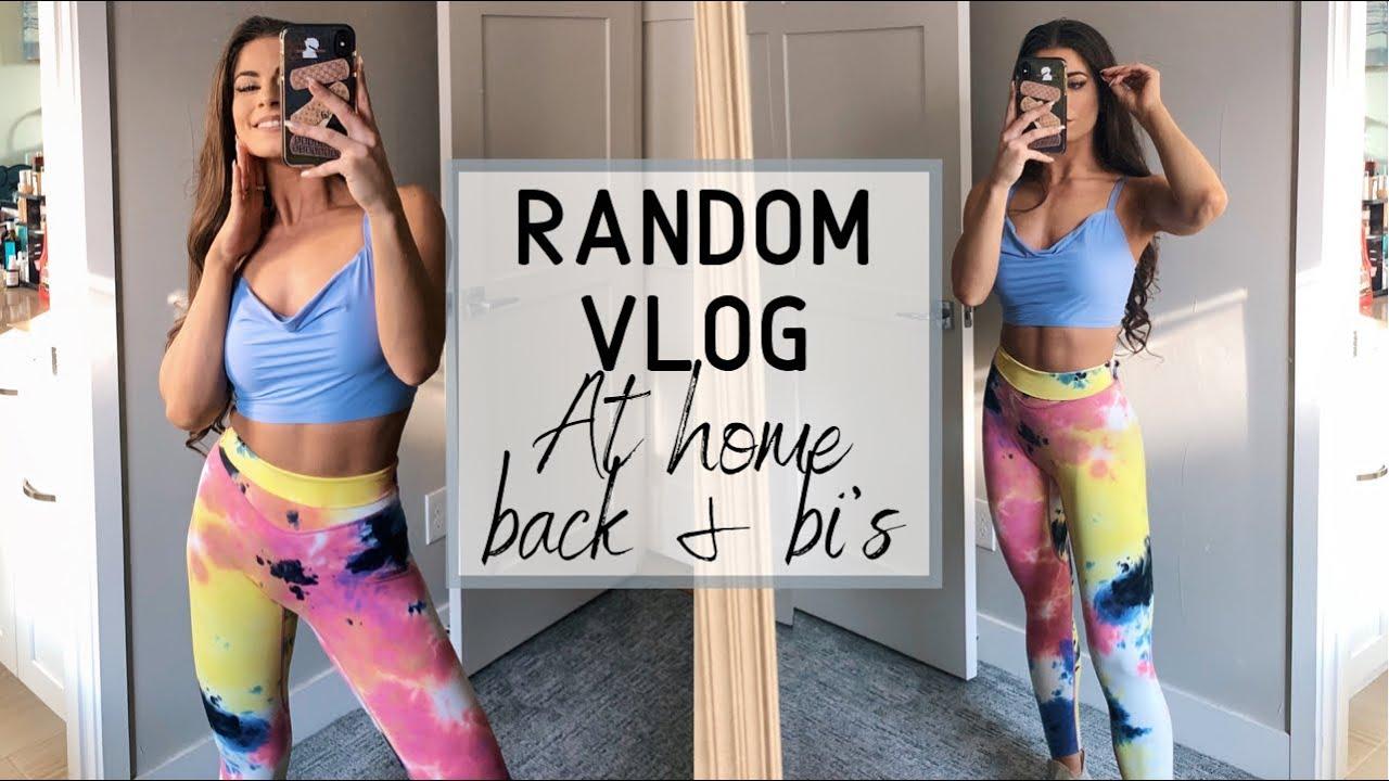 <div>Vlog | Back & Bi's Workout</div>