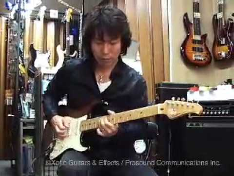 "Interview with Takayuki Hijikata XOTiC guitar ""Classic Evolution"" 50's,Dec 11 2008"