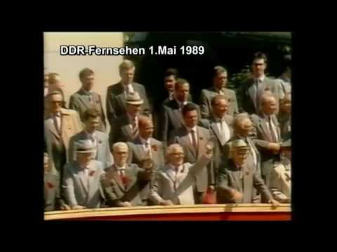 east german tv: first of may 1989
