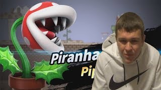 To Everyone Mad About Piranha Plant In Smash Bros. Ultimate...