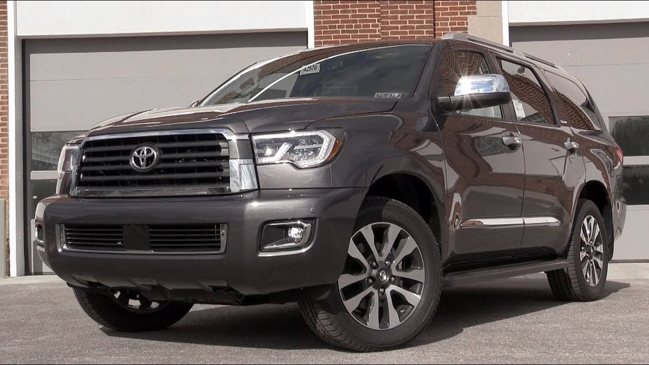 2018 toyota sequoia review youtube. Black Bedroom Furniture Sets. Home Design Ideas