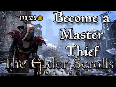 Become a MASTER THIEF to MAKE MONEY in ESO! (Elder Scrolls Online Quick TIps for PC, PS4, and XB1)