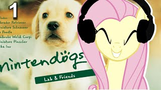 Fluttershy plays Nintendogs 🍉 | MY HEART CANNOT HANDLE. | Part 1