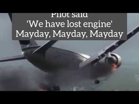 Момент удара о землю самолета А 320 в Карачи Пакистан. Переговоры пилотов. Авиакатастрофа 22.05.20