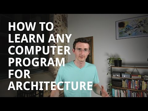 How to Learn Computer Programs for Architecture
