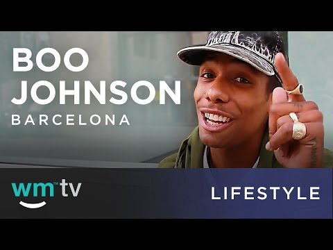 Skating with Boo Johnson in Barcelona
