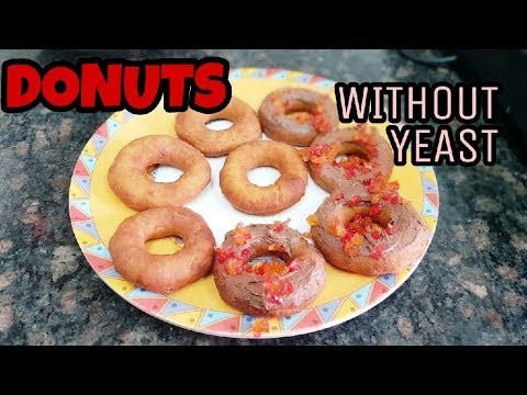 how to make donuts without yeast