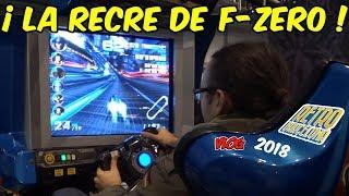 🤖 ! F-ZERO AX ARCADE! MI ESPECTACULAR VISITA A RETROBARCELONA 2018 dentro de Barcelona Games World