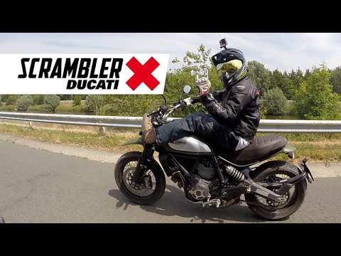 ducati scrambler urban enduro test ride - youtube