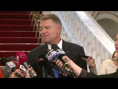 6 noiembrie 2018   Declaratia de presa a Presedintelui Klaus Iohannis