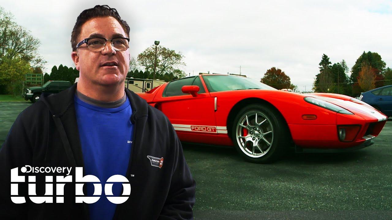Andy restaura um Ford GT 2005   Os Reis da Sucata   Discovery Turbo Brasil