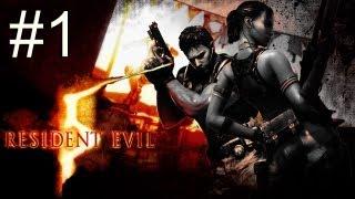 Resident Evil 5 - Прохождение игры на русском - Кооператив [#1] глава 1-1