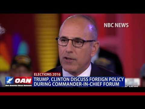 RECAP: Commander-in-Chief Forum