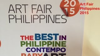 Art Fair Philippines 2015 Raises the Bar of Modern and Contemporary...