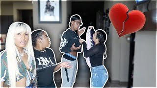 "BREAKING UP WITH GIRLFRIEND PRANK IN FRONT OF ""TAYLOR GIRLZ""💔"