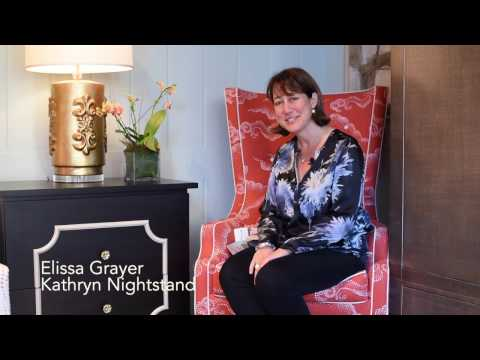 Elissa Grayer Presents 42nd Street Design's Kathryn Nightstand at High Point Fall Market 2016