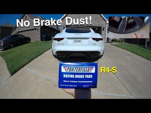 Jaguar F-Type Brake Pad DIY: Porterfield R4-S Review