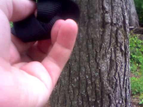 tying the appalachian hammock strap knot tying the appalachian hammock strap knot   youtube  rh   youtube