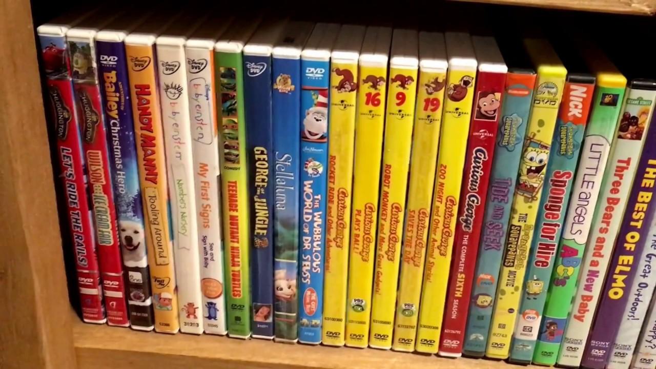 Kids Dvd Movie Collection 12 17 17 Dora The Explorer