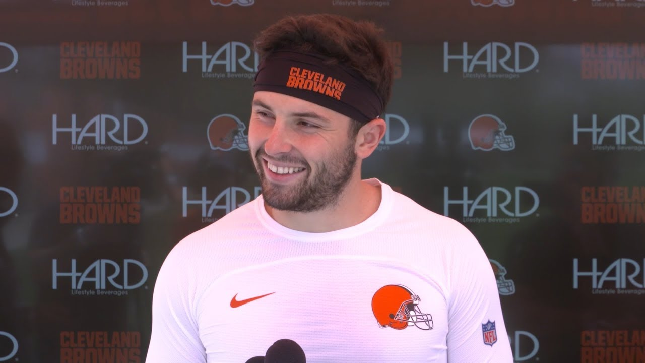 Baker Mayfield  I have to work for it and I have to earn it ... 1c54576a9