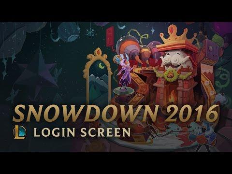 Snowdown 2016   Login Screen - League of Legends