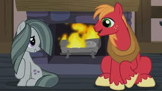 the apples spend hearthswarming with the pies my little pony friendship is magic season 5