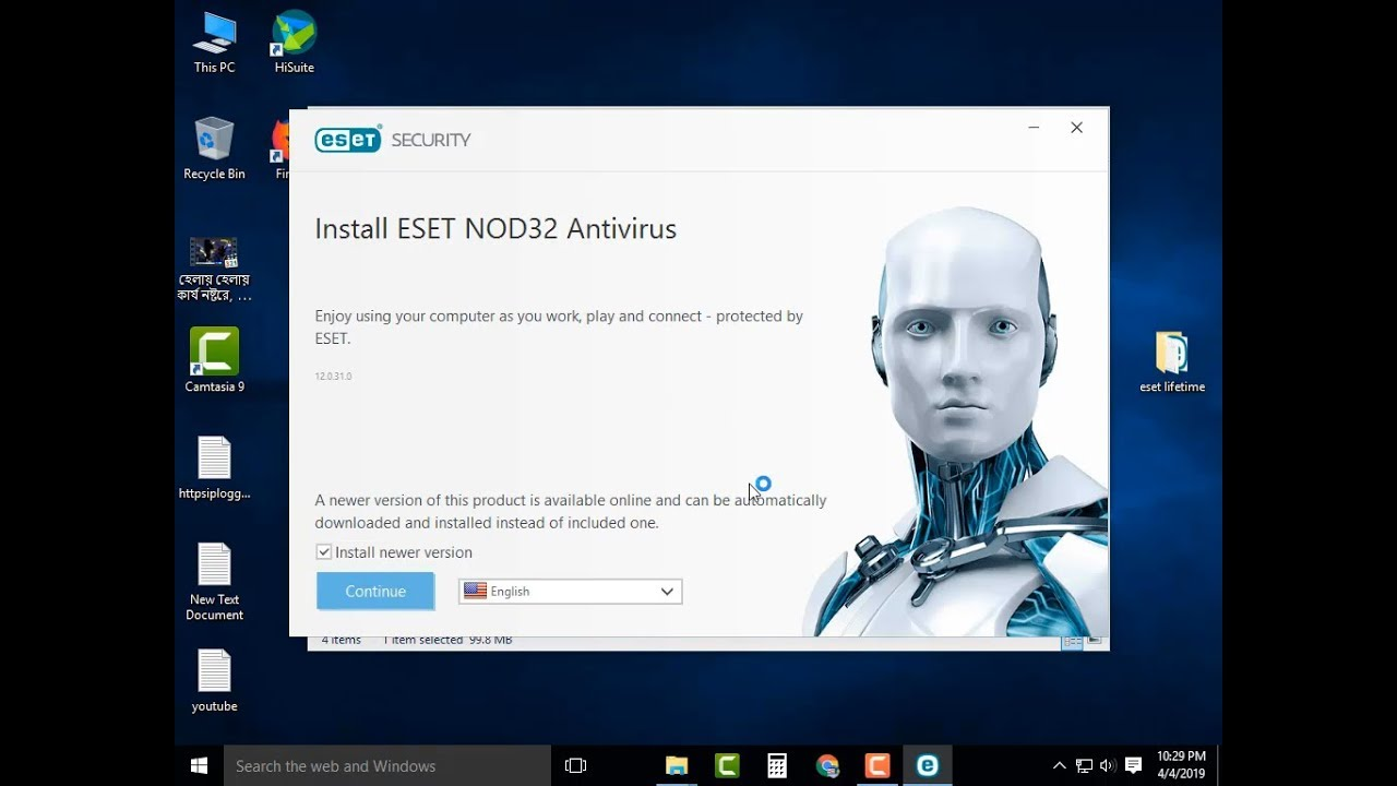 download antivirus nod32 version 4