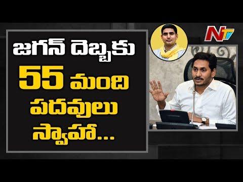 జగన్ దెబ్బకు 55మంది పదవులు స్వాహా: 55 MLCs To Lost Possession Over Abolition Of Council | NTV