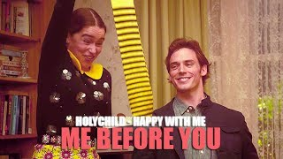 Holychild - Happy With Me  Lyric Video  • Me Before You Soundtrack •