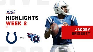 Jacoby Brissett's Triple-TD Day | NFL 2019 Highlights