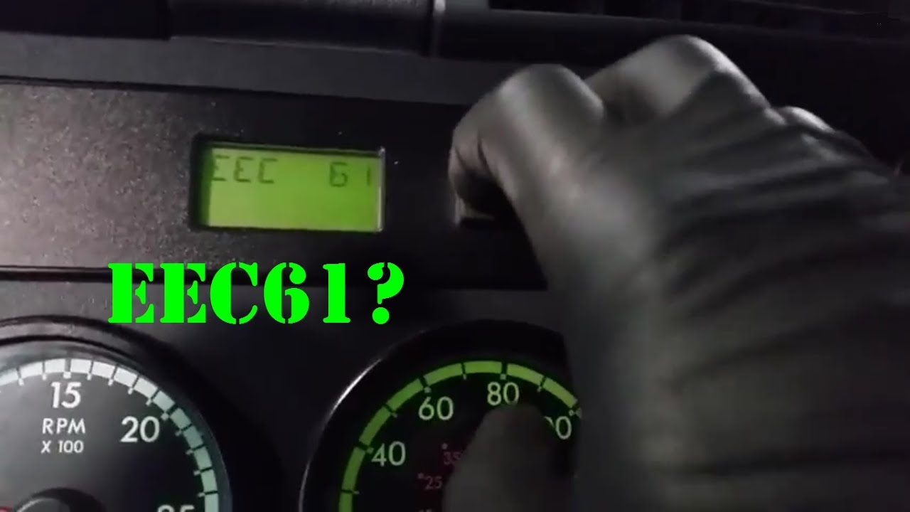 Reading fault codes from a Cascadia Dash