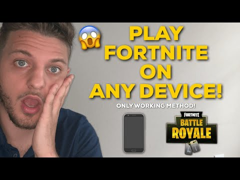 Play Fortnite On Unsupported Device 🔥 Android 🔥 WORKING 2019