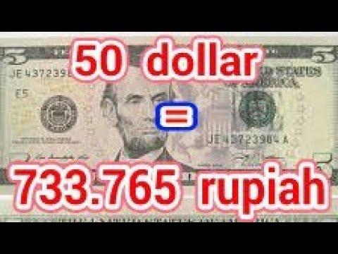 Terkuak 50 Dollar Berapa Rupiah Youtube