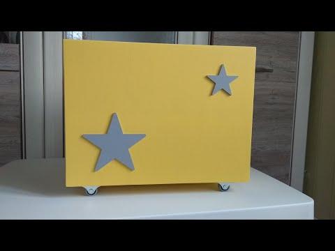 Ящик для игрушек из фанеры своими руками