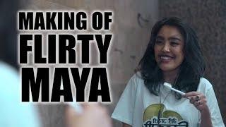  14  Flirty Maya - Neetesh J Kunwar (Behind The Scenes Vlogling)