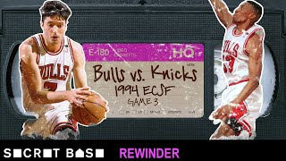 The drama-filled final play of the messy 1994 Knicks-Bulls Game 3 needs a deep rewind