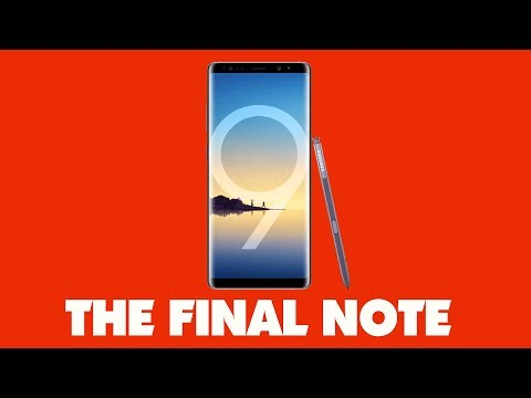The Samsung Galaxy Note 9 Maybe The Final Phone In The Note Series