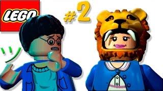 Смешная озвучка   Лего Гарри Поттер [2]   Мультик игра   Семен Плей 😁