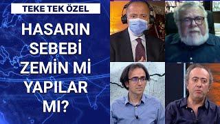 Prof. Dr. Celal Şengör ve deprem uzmanları Habertürk TV'de  Teke Tek Özel - 1 Kasım 2020