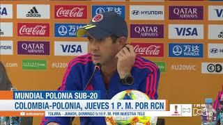 Polonia vs Colombia en el Mundial Sub-20: Arturo Reyes habla en rueda de prensa