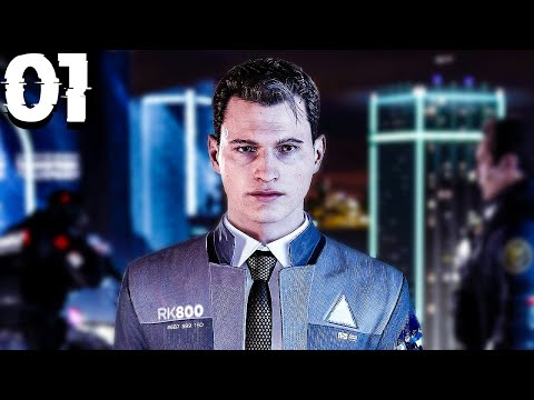 ANDROIDS HAVE FEELINGS TOO 😭 - Detroit: Become Human - Part 1