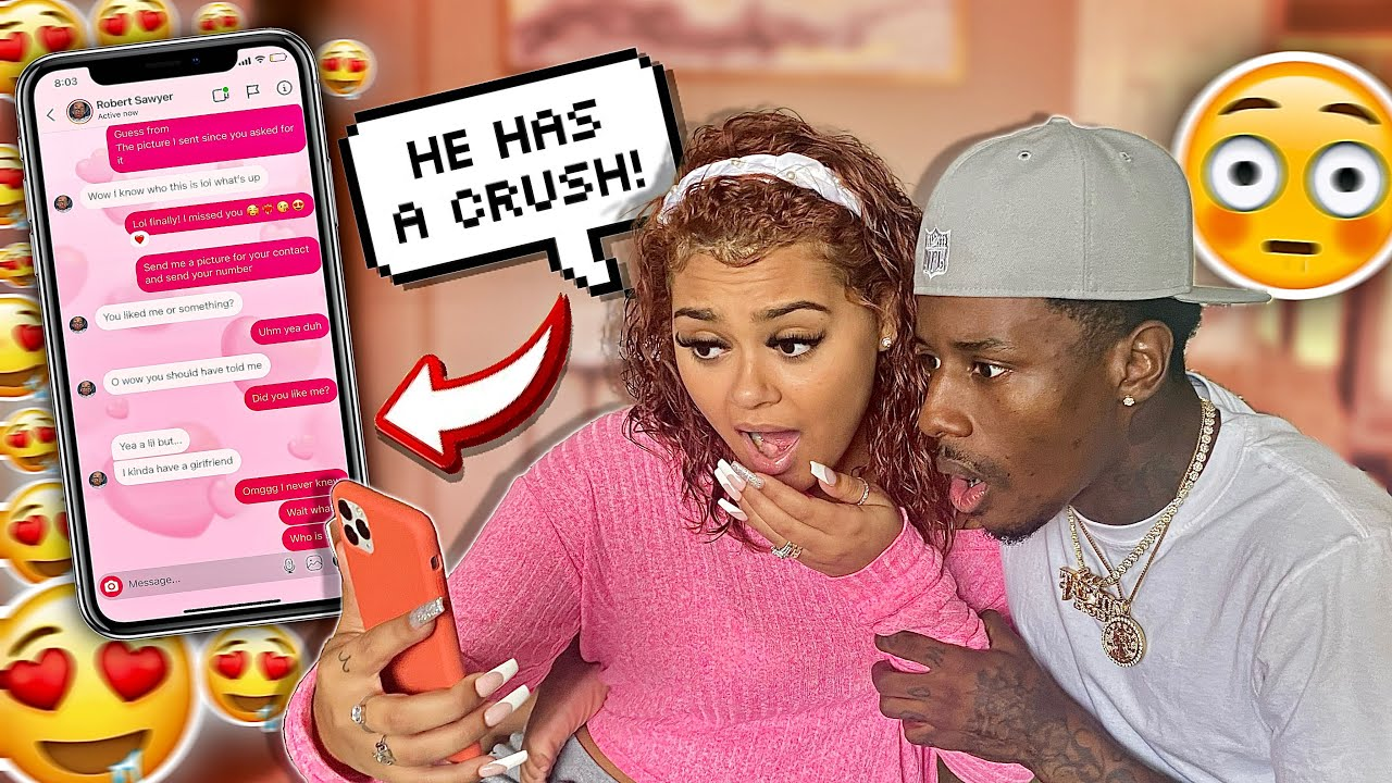 WE CATFISHED OUR SON AND FOUND OUT HE HAS A CRUSH **HE'S A CHEATER**