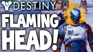 Destiny: How To Get Flaming Head - .20x XP & Exotic Items / Ascendant Shards (Radient Light Buff)