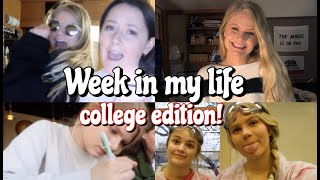 WEEK IN MY LIFE AT TEXAS TECH UNIVERSITY!