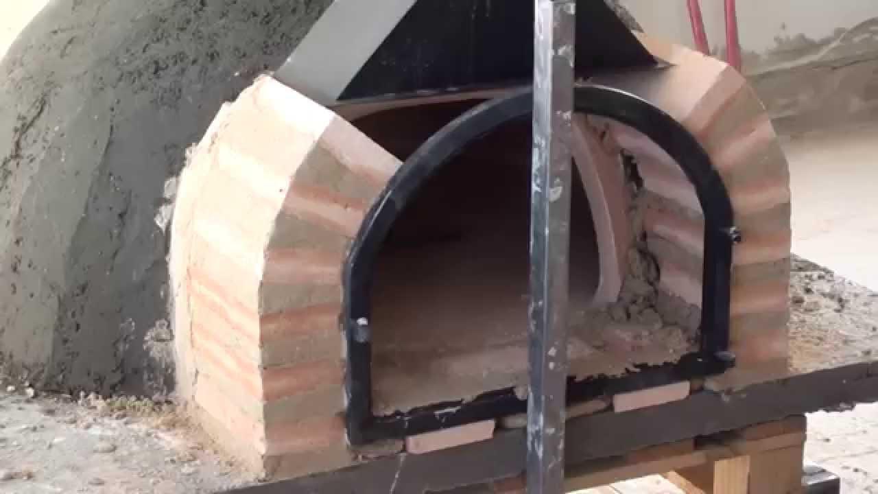 Horno de barro en proceso de montaje youtube - Hornos de barro precios ...