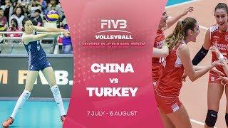 China v Turkey highlights - FIVB World Grand Prix