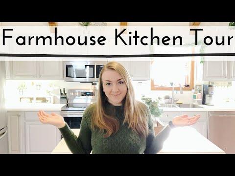 FARMHOUSE KITCHEN TOUR | FARMHOUSE KITCHEN | KITCHEN TOUR | FARMHOUSE DECOR
