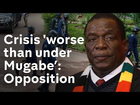 Zimbabwe President returns amid violent crackdown