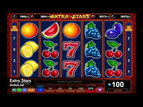 Extra Stars – Get something extra with this slot machine!